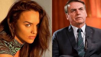Ex-BBB Rafa Kalimann dá invertida em acusação de apoio a Jair Bolsonaro: