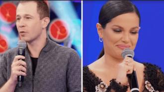 Tiago Leifert reencontra Juliette no 'Super Dança' e arranca lágrimas da ex-BBB: