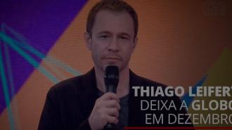 Tiago Leifert vai deixar a TV Globo após o 'The Voice Brasil'