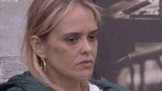 Nina guarda segredo para evitar ataques no Power Couple Brasil: 'Tenho medo'
