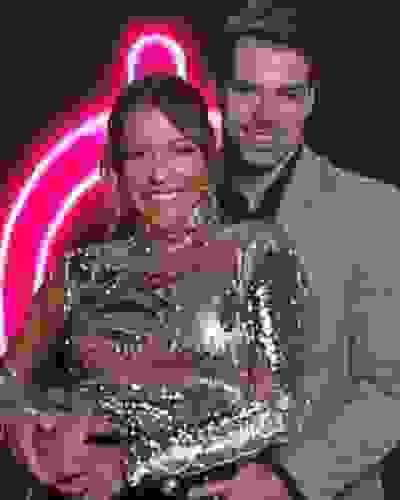 Renata Domínguez e Leandro Gléria