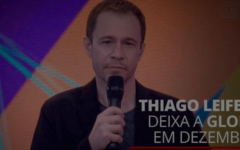 Tiago Leifert vai deixar a TV Globo após o
