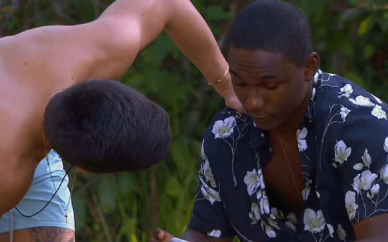 """""""Quer sair na mão?"""": Thomaz provoca MC Negão da BL na Ilha Record"""