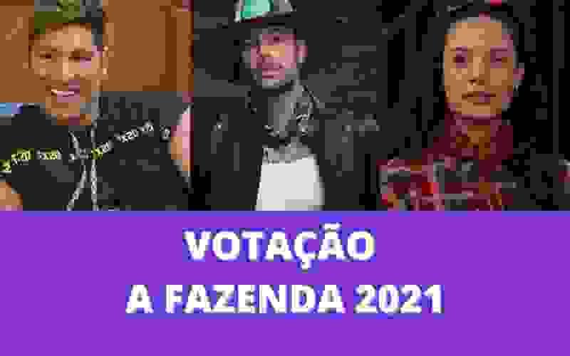 Votação A Fazenda 2021: Gui, Aline ou Victor, quem deve sair?